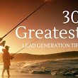 30 Greatest Lead Generation Techniques
