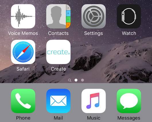 ADDING AN IOS HOME SCREEN ICON FOR YOUR WEBSITE