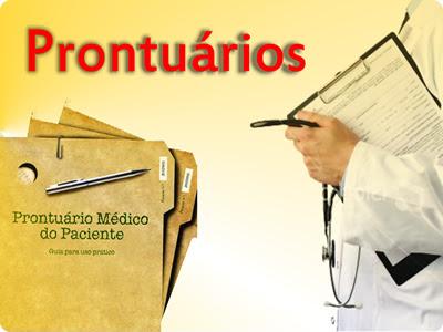 Resultado de imagem para prontuario medico
