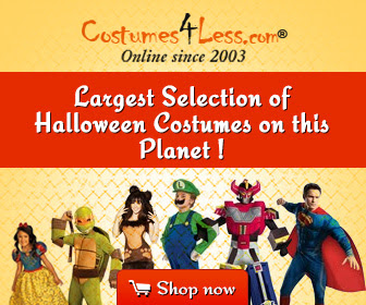 Low Price Halloween Costumes and Top Halloween Costumes for Kids 2014- Costumes4Less.com via www.Productreviewmom.com