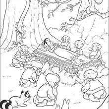Dibujos Para Colorear Blancanieves 20 Imagenes De Princesas Para