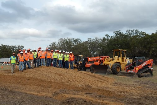 Heavy Mobile Equipment Training At COMANCO COMANCO's dedication to training and safety programs continues...