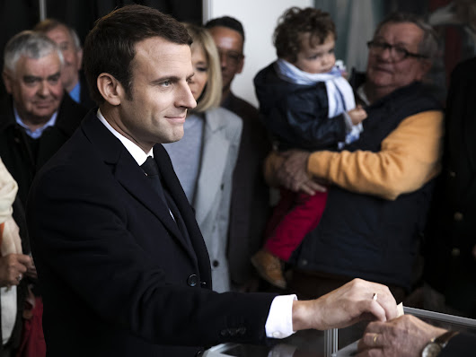 Who is Emmanuel Macron, favourite to become France's next president?