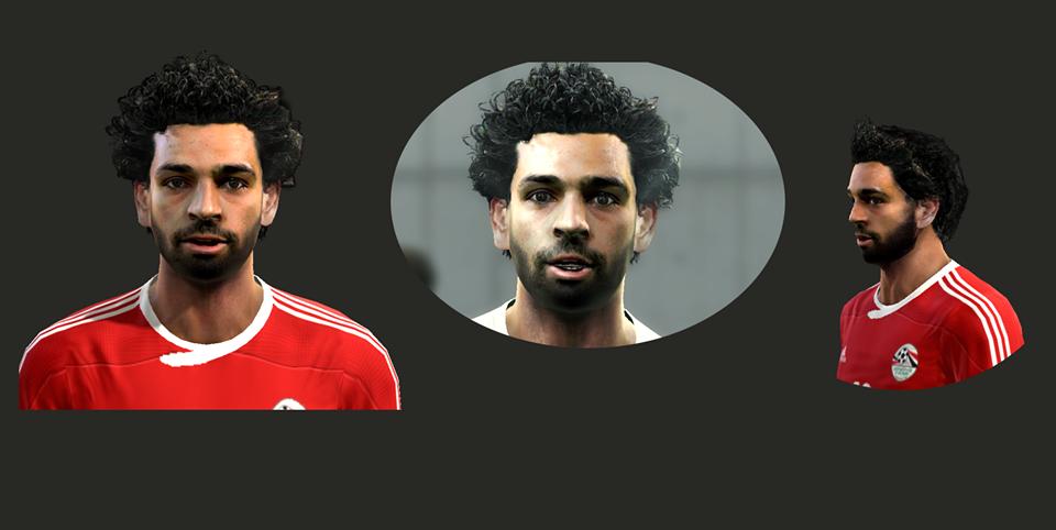 وجه محمد صلاح لاعب المنتخب المصري 2016-2017 لبيس 2013