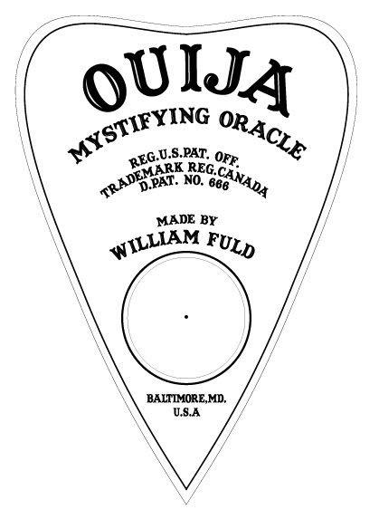 Static: Laser Etched/Engraved Ouija Board on Plex | Pendel ...