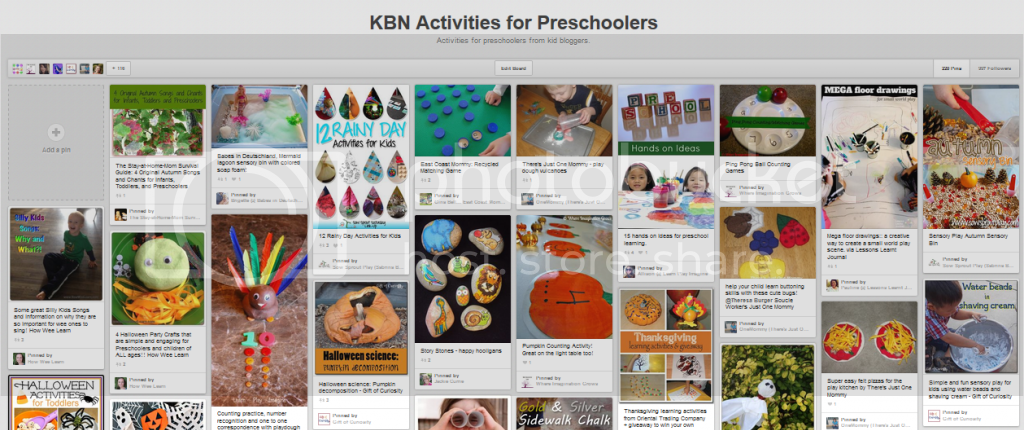 http://www.pinterest.com/kidbloggers/kbn-activities-for-preschoolers/