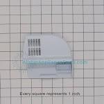 Samsung Refrigerator DA61-03762A Freezer Left Guard Support