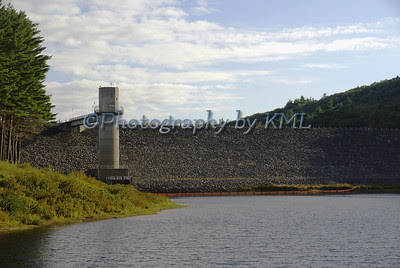 dam and dam tower