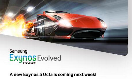Samsung: new Exynos 5 Octa SoC coming next week