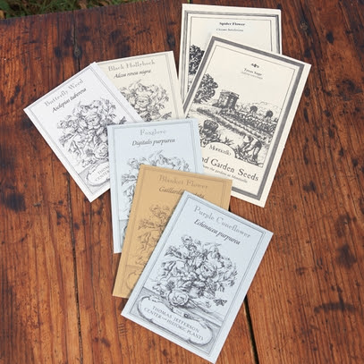 Monticello Birds, Bees and Butterflies Seed Sampler