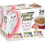 Fancy Feast Grilled Poultry and Beef Feast Variety Canned Cat Food