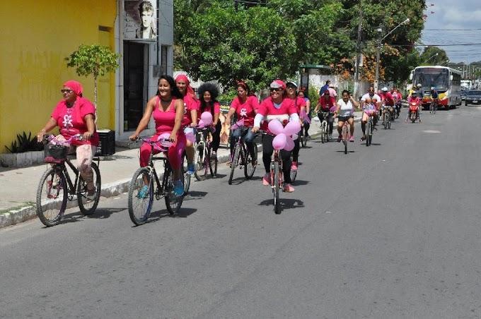 Paulista encerra Outubro Rosa com 4ª edição da Pedalada Rosa