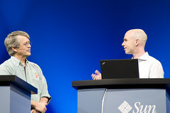 Issac Roth and Lew Tacker, General Session, CommunityOne West 2009