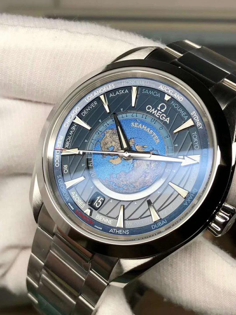 Replica Omega Worldtimer GMT