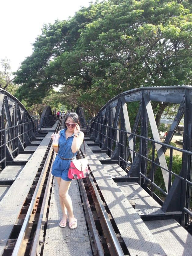 Burma Railway/Death Railway/Burma-Siam Railway, River Kwai, Thailand