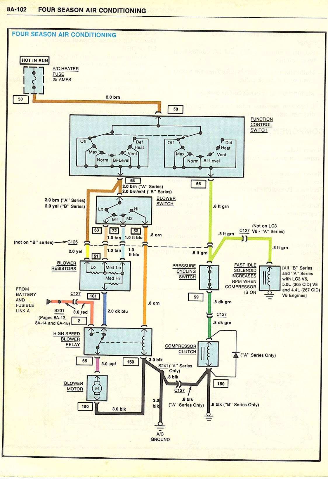 72 Corvette Wiring Diagram