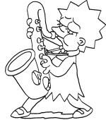 Coloriage Simpsons Gratuit A Imprimer