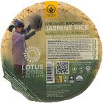 Lotus Foods Organic Brown Jasmine Rice - Case of 6 - 7.4 oz.
