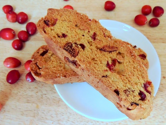 pumpkin cranberry fig biscotti from Once Upon A Tart | the ...