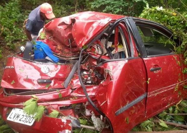 Empresária florianense morre em acidente na BR-230.(Imagem:Cleto Rodrigues)
