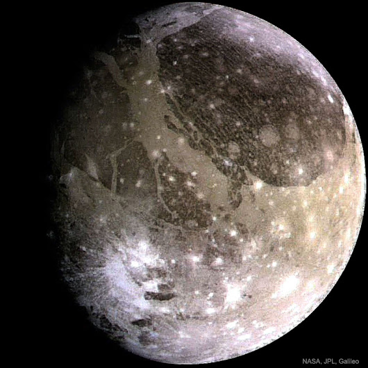 APOD: 2017 May 14 - Ganymede: The Largest Moon