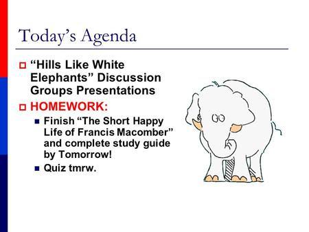 Hills like white elephants essay