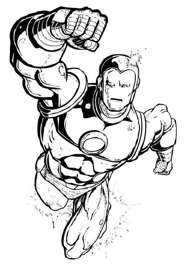 Dibujos Para Colorear Superheroes Eshellokidscom
