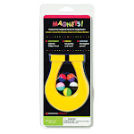 Dowling Magnets DO-736609BN 4.5 in. Mini Horseshoe Magnet & 5 Magnet Marbles Assortedcolor - Pack of 6