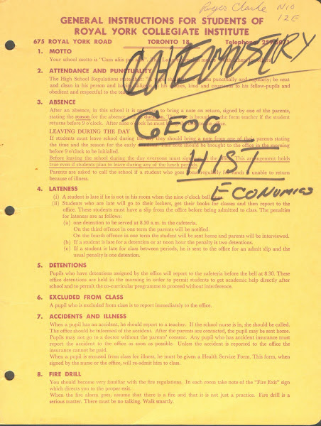 Documents related to RYCI: General Instructions for Students of RYCI, p. 1