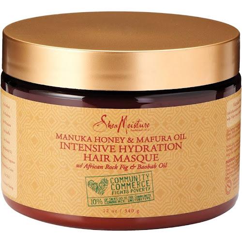 SheaMoisture Manuka Honey and Mafura Oil Intensive Hydration Hair Masque - 12 oz jar