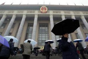 Manipulated China rain
