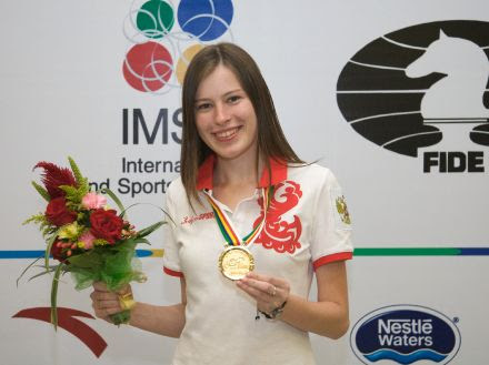 Natalia Pogonina Becomes the Official Ambassador of Chess Heroz - Welcome to the official website of Natalia Pogonina!