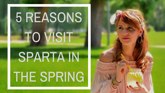 5 Reasons to Visit Sparta in the Spring | Franklin Victorian Bed & Breakfast blog