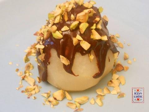 Pere al cioccolato o Bella Elena, ricetta facile. Di Kissthecook.