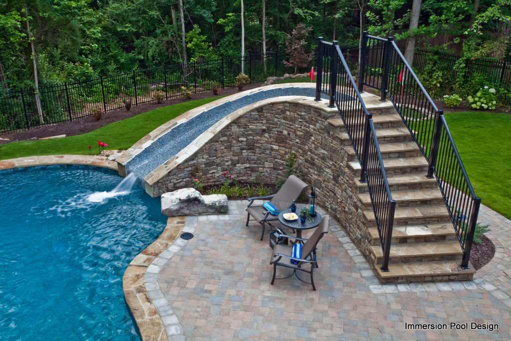 Immersion Pools Custom Swimming Pools Spas Landscape