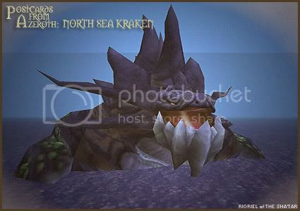 Postcards from Azeroth: North Sea Kraken, by Rioriel Whitefeather