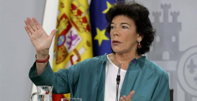 La ministra de Educación y Portavocía, Isabel Celaá.- EFE/Ballesteros