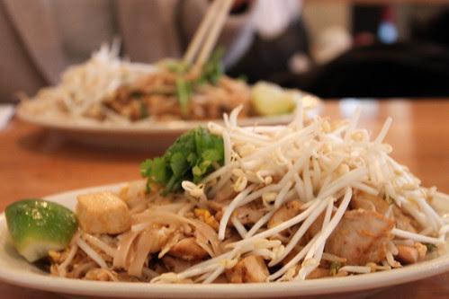Pad Thai Gung und Pad Thai Gai
