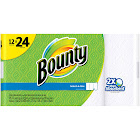 Bounty 2-Ply Paper Towels, White - 12 count