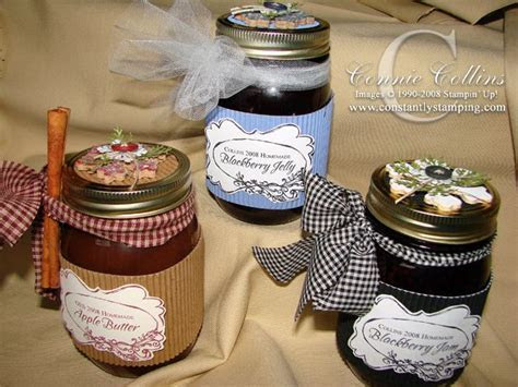 Decorated Jam Jars   canning & preserving   Decorated jars