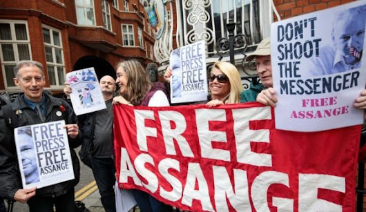The War on Assange Is a War on Press Freedom – Countercurrents