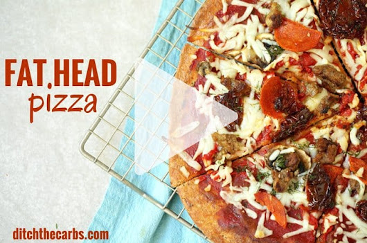 Fat Head Pizza - The HOLY GRAIL Of Low Carb Pizzas