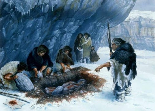 Neanderthals from the French region of Poitou-Charentes cut, beat and fractured the bones of their recently...