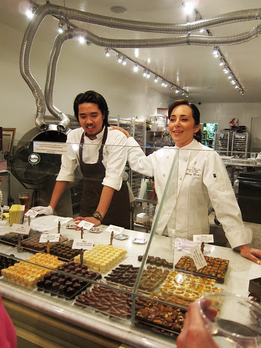 Chocolate Tasting at Madame Chocolate