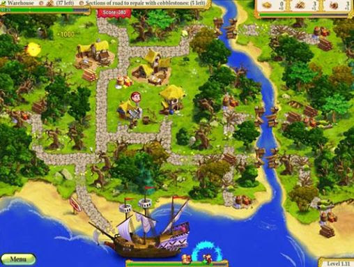 Screenshots of the My kingdom for the princess for Android tablet, phone.