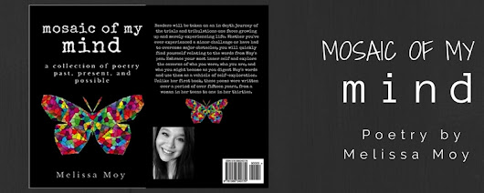 'Mosaic Of My Mind' by Melissa Moy #poetrybook
