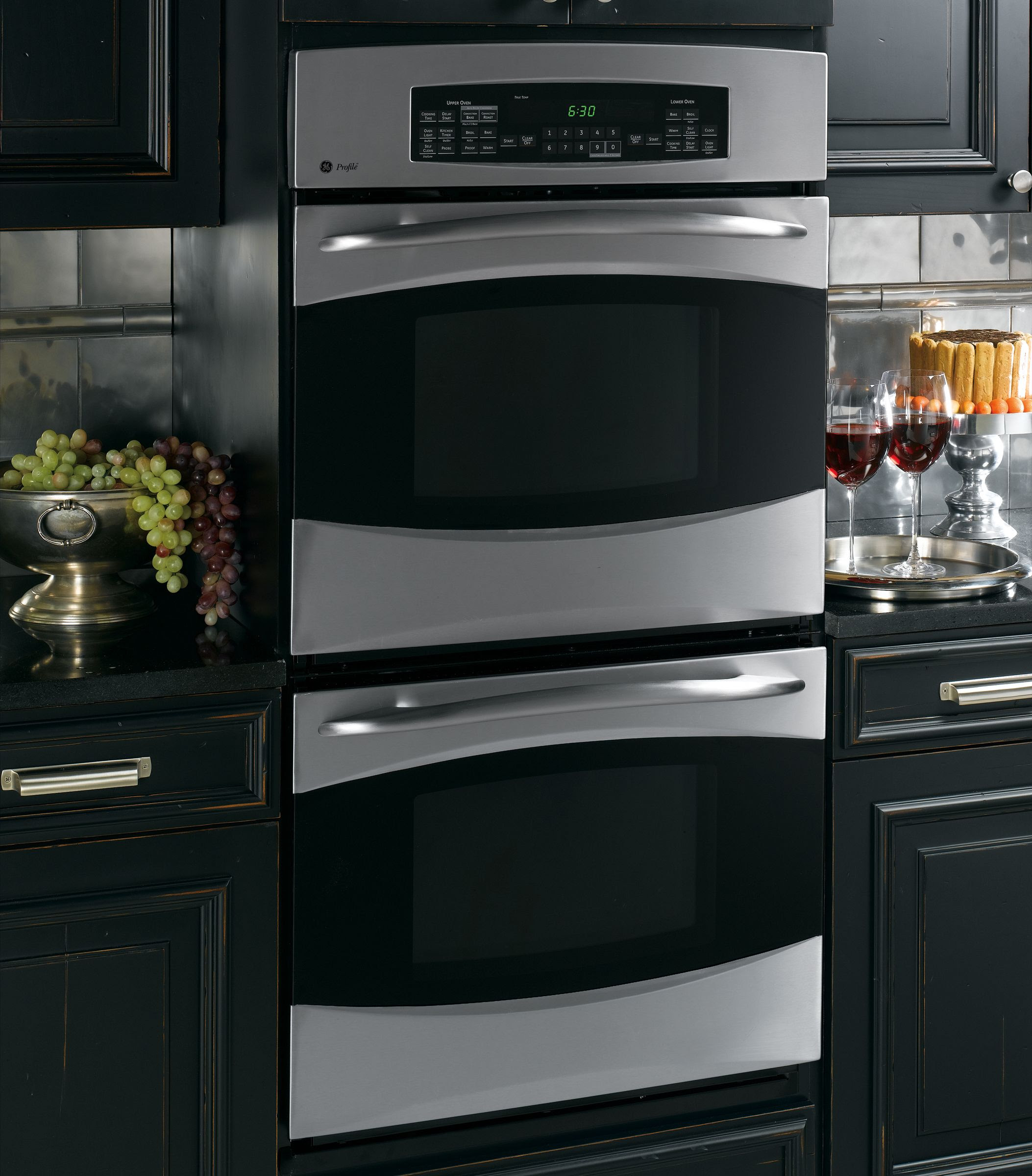 GE Profile Electric Double Wall Oven 27 in. PK956 - Sears
