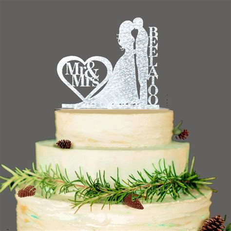 Personalized Wedding Cake Topper, Wedding Decoration