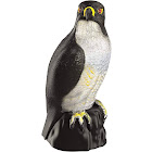 Eliminator Natural Enemy Scarecrow Eagle Solar Powered and Motion Activated Pest and Bird Control with Realistic Sounds and Red Eye Lights