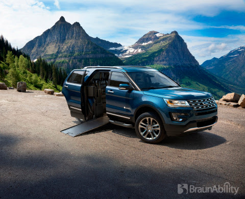 BraunAbility MXV – a Ford Explorer Conversion – Is World's First Wheelchair-Accessible SUV | Business Wire